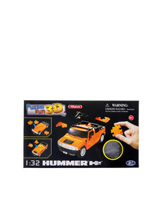 Happywell 1.32 Hummer H2 Orange 3D Puzzle