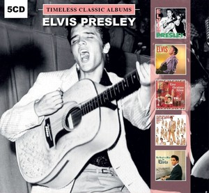 Elvis Presley Timeless Classic Albums [5 Disc Set]