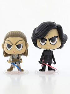 Funko Pop Star Wars Rey & Kylo Ren Vinyl Figures [2 Pack]