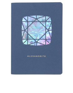 Portico Design Alexandrite Birthstone Blue A6 Notebook