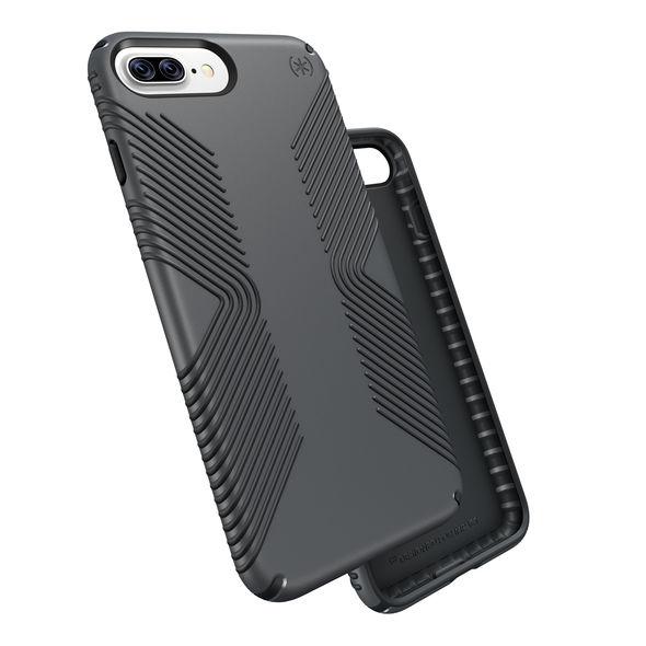 online retailer df2c4 a9541 Speck Presidio Case Grip Graphite Grey/Charcoal Grey for iPhone 8 Plus7 Plus