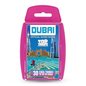 Winning Moves Top Trumps Dubai Top 30 Things