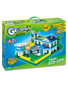 Amazing Toys GreenX Police Eco-City
