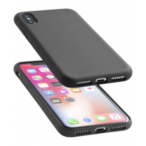 Cellular Line Soft Touch Case Black For iPhone X