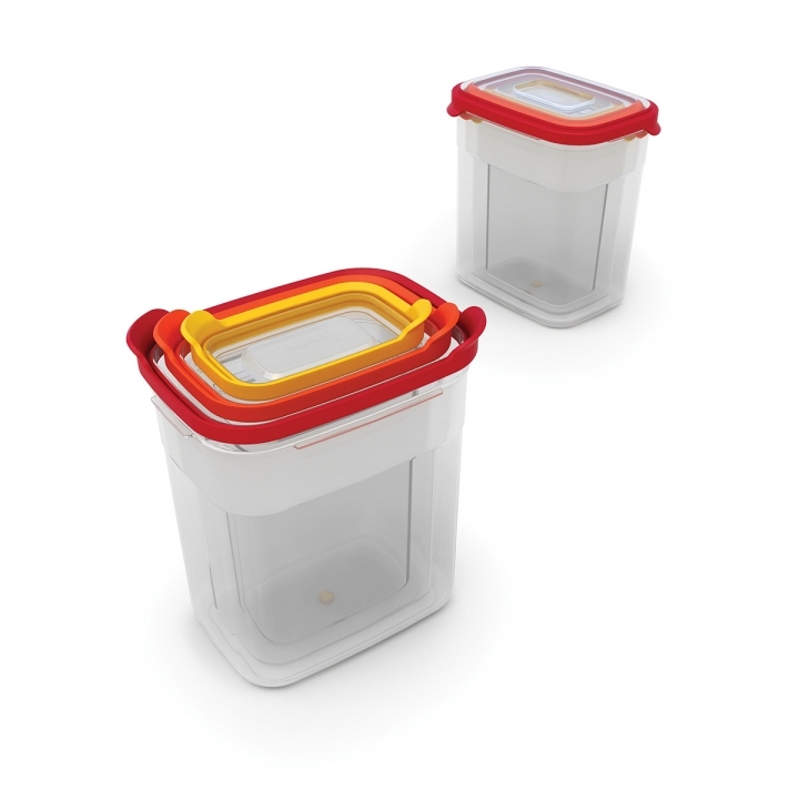 Joseph Joseph Nest Storage Tall Food Containers [Set of 3]