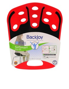 Backjoy Sitsmart Tech Gel Red/Black Large