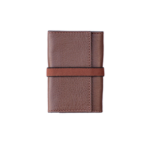 Double 00 Lima Brown/Black Wallet