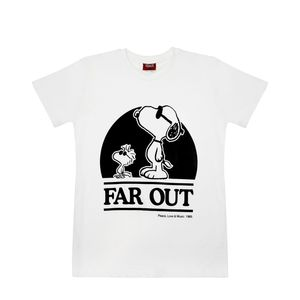 Exhale Far Out Unisex T-Shirt White