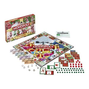 Winning Moves Monopoly Christmas Board Game
