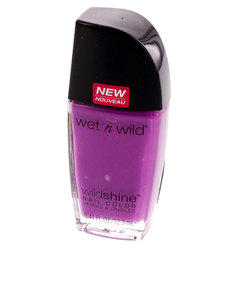 Wet N Wild Wild Shine Nail Color Who Is Ultra Violet