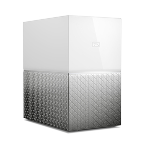 WESTERN DIGITAL MY CLOUD HOME DUO 8TB ETHERNET LAN WHITE PERSONAL CLOUD STORAGE DEVICE