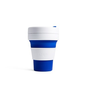 Stojo Pocket Collapsable Cup Blue 355ml