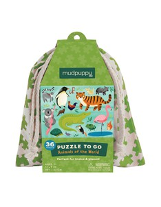 Mudpuppy Animals Of The World Puzzle To Go
