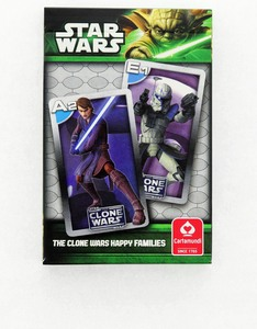 Cartamundi Star Wars: Clone Wars Happy Families Card Game