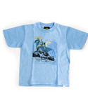 Batman Two Gotham Gargoyles Carolina Blue Toddler Tshirt 4T