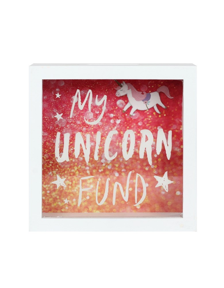 Unicorn Fund Frame Money Box