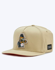 Cayler & Sons WL Hyped Garfield Sand/Red Cap