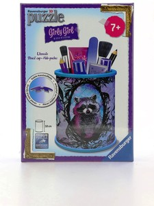 Ravensburger 3D Girly Girl Pencil Cup Animal Trend 54 Puzzle