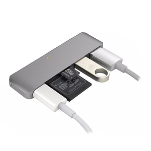 Hyper HyperDrive 5-in-1 USB Type-C Hub Space Grey with Power Delivery