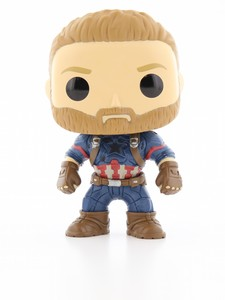 Funko Pop Infinity War Captain America Vinyl Figure