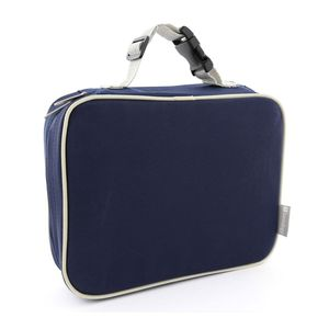 Bentology Complete Lunch Box Set Blue/Gray [Classic Lunch Box + Bento Box]