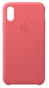 APPLE LEATHER CASE PEONY PINK FOR IPHONE XS