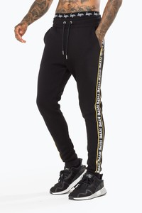 Hype Warning Black Men'S Joggers M