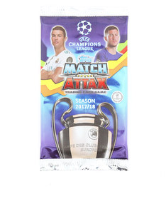 Match Attax Champions League Seasons 2018 Cards [Pack of 6]