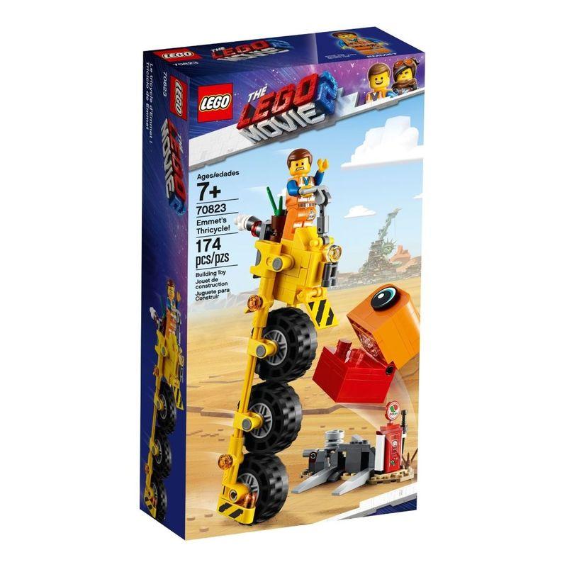 Lego Movie 2 Emmet's Thricycle   Building Blocks   Science + Engineering    Gifts & Toys   Virgin Megastore