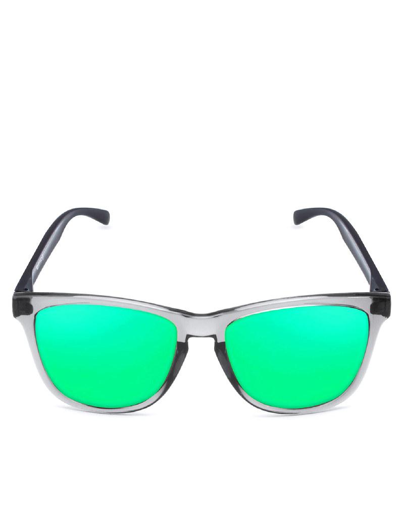 14a052db7c1 Emoji Alien Bright Grey Green Adult Sunglasses