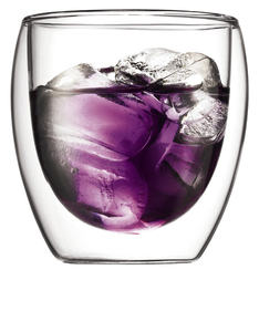 Bodum Pavina Double Wall Glass 0.25L [Set of 2]