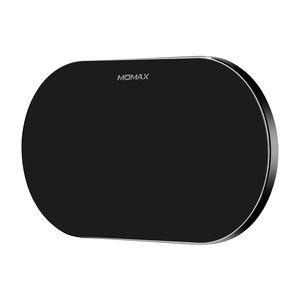 Momax Q.Pad Dual Pro Quad-Coil Fast Wireless Charger Black