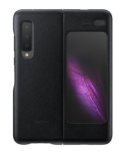 Samsung Leather Cover Black for Galaxy Fold