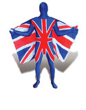 Flag Morphsuits Uk Flag Xl