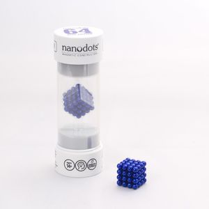 Nanodots 64 Blue Magnetic Dots