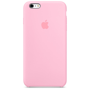 Apple Silicone Case Light Pink iPhone 6/6S Plus