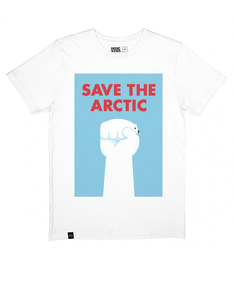 Dedicated Save The Arctic White T-Shirt