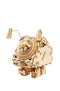 Robotime DIY Steampunk Music Box Seymour