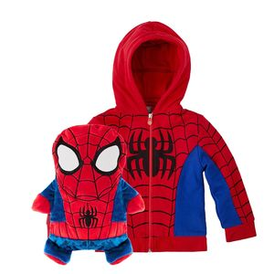 Cubcoats Marvel's Spider-Man Unisex 2-In-1 Hoodie