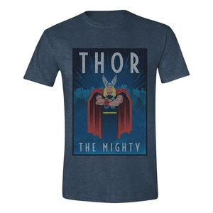 Time City Thor The Mighty Men's T-Shirt Heather Navy