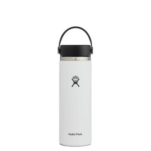 Hydroflask Canteen Vacuum Bottle Wd White 590ml