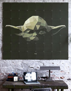 IXXI Star Wars Icons Yoda Wall Decoration