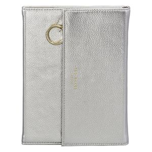 Ted Baker Notebook With Pencil Case Silver
