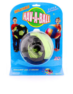 Toysmith Hav-A-Ball Inflatable Ball [20 inch]