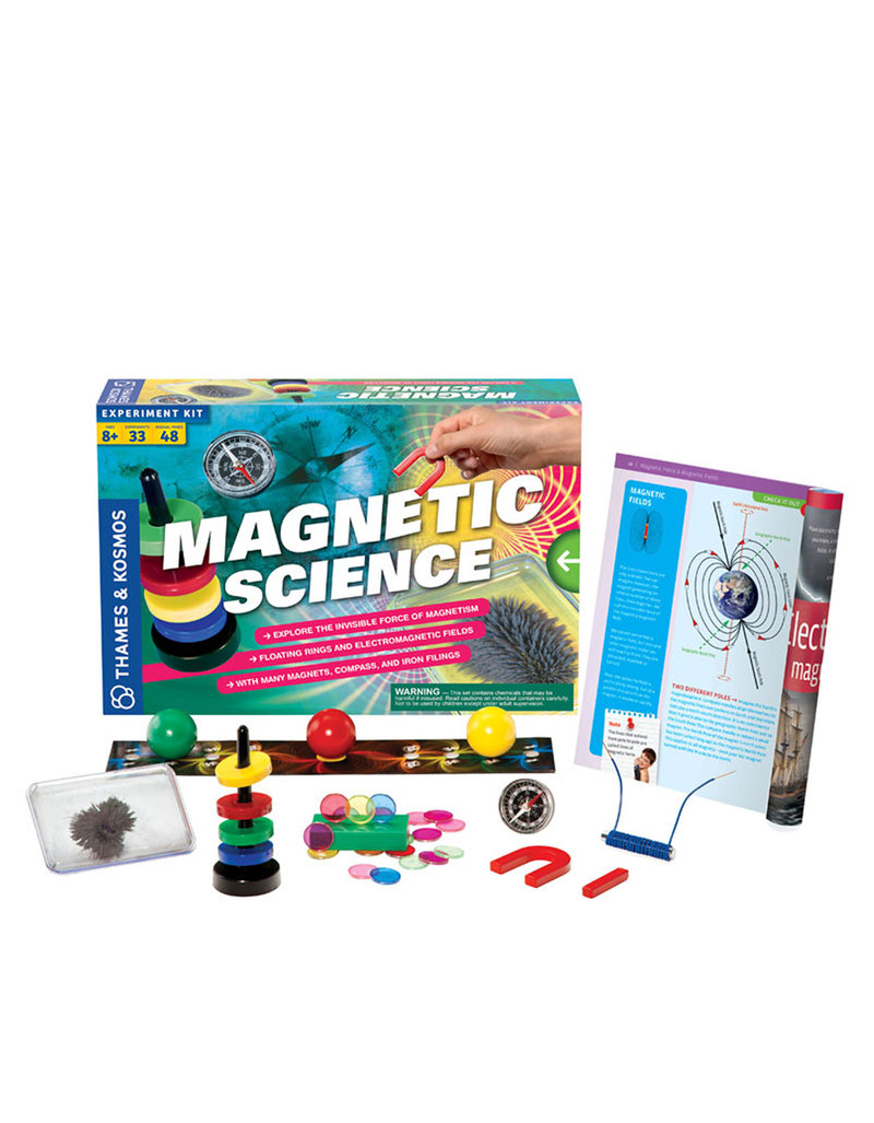 Thames & Kosmos Magnetic Science Project Kit