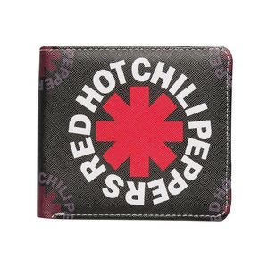 Red Hot Chili Peppers Black Asterisk Wallet