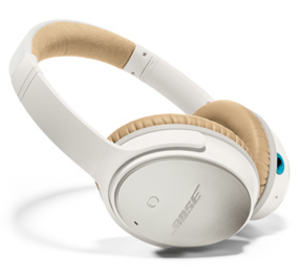 Bose Quietcomfort25 White Headphones