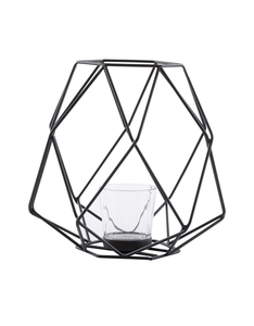 Silsal Ashkaal Black Candle Holder [Small]