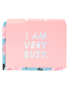 Ban.do Get It Sorted File Folder Set Rose Parade/I Am Very Busy