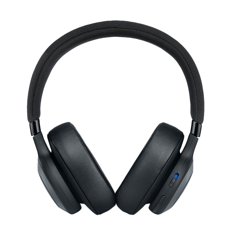 Jbl E65 Black Noise Cancelling Bluetooth Headphones On Ear